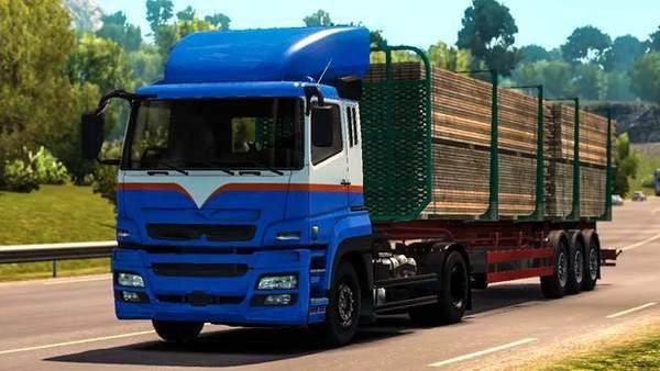 印度山地重型货运卡车