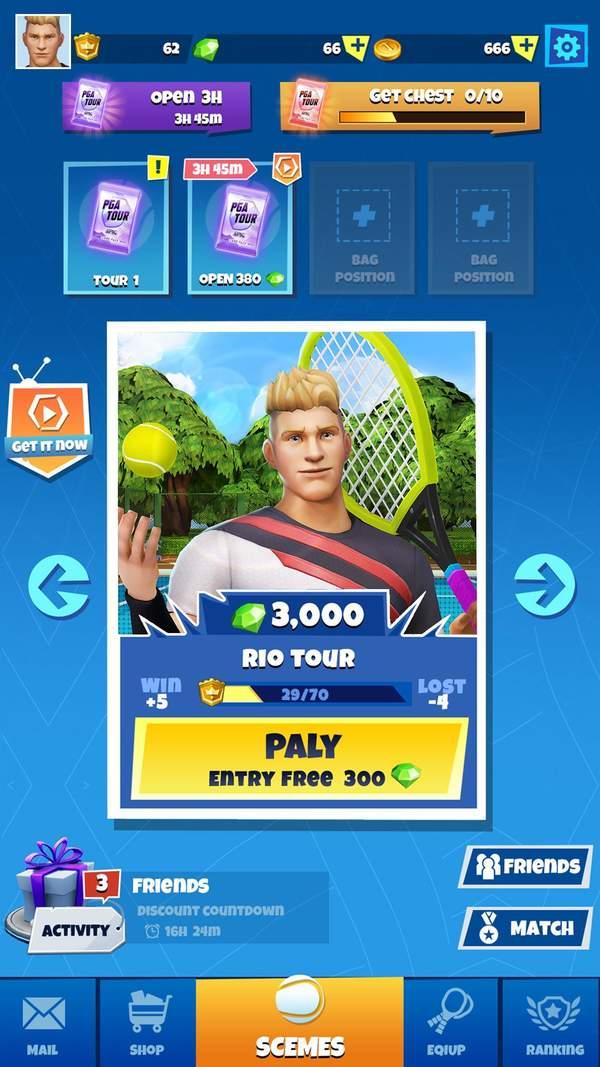 Tennis Go中文版