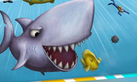 鲨鱼吃小鱼的游戏