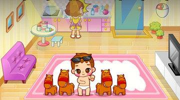模拟照顾宝宝的游戏