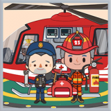 米加小镇救火队